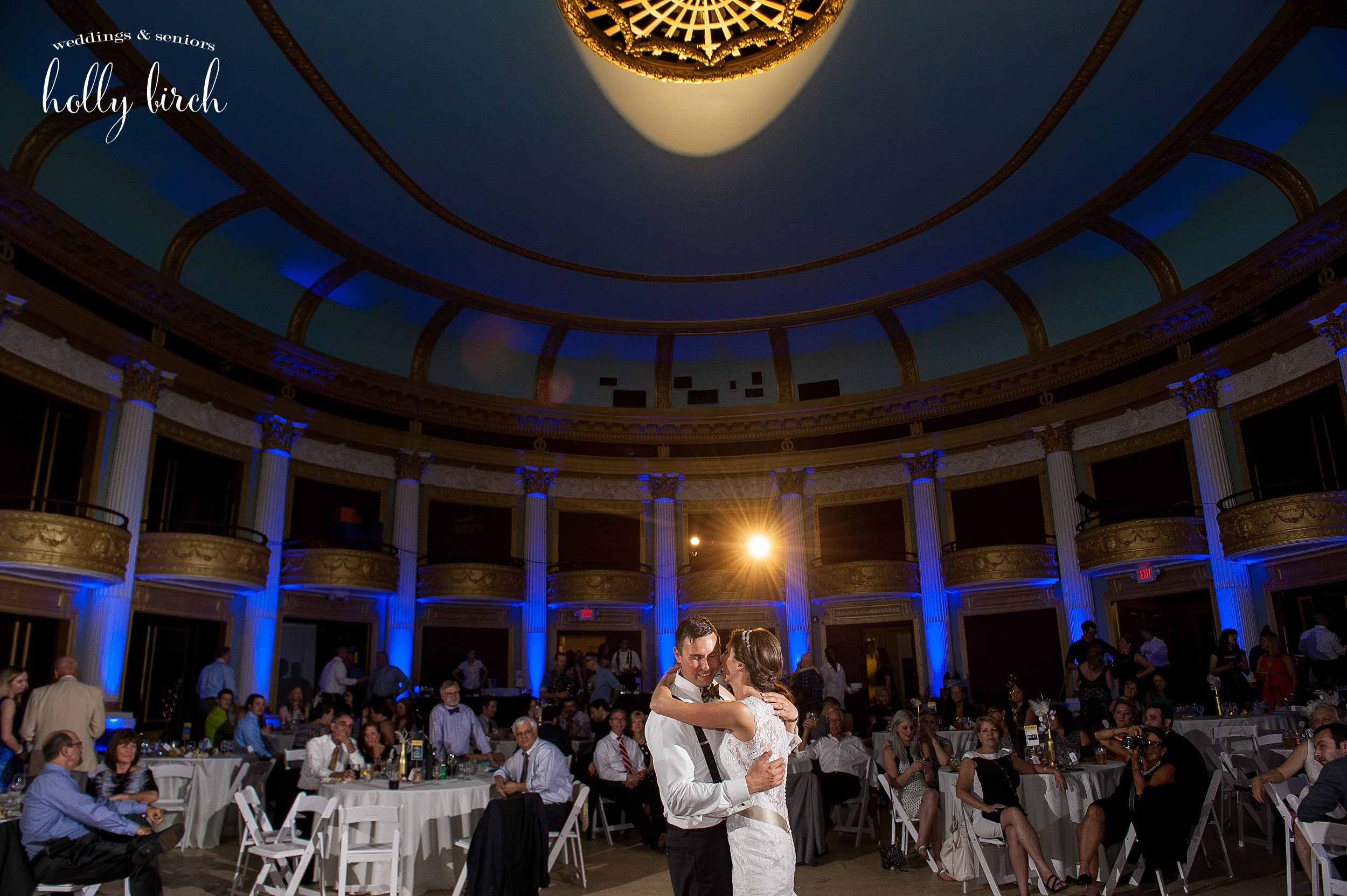 Orpheum Children's Museum wedding first dance