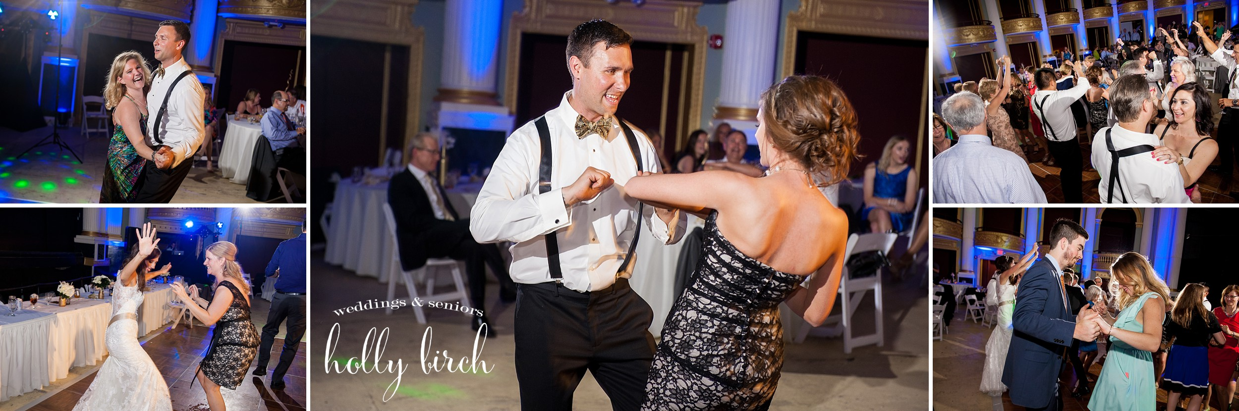Orpheum wedding dancing