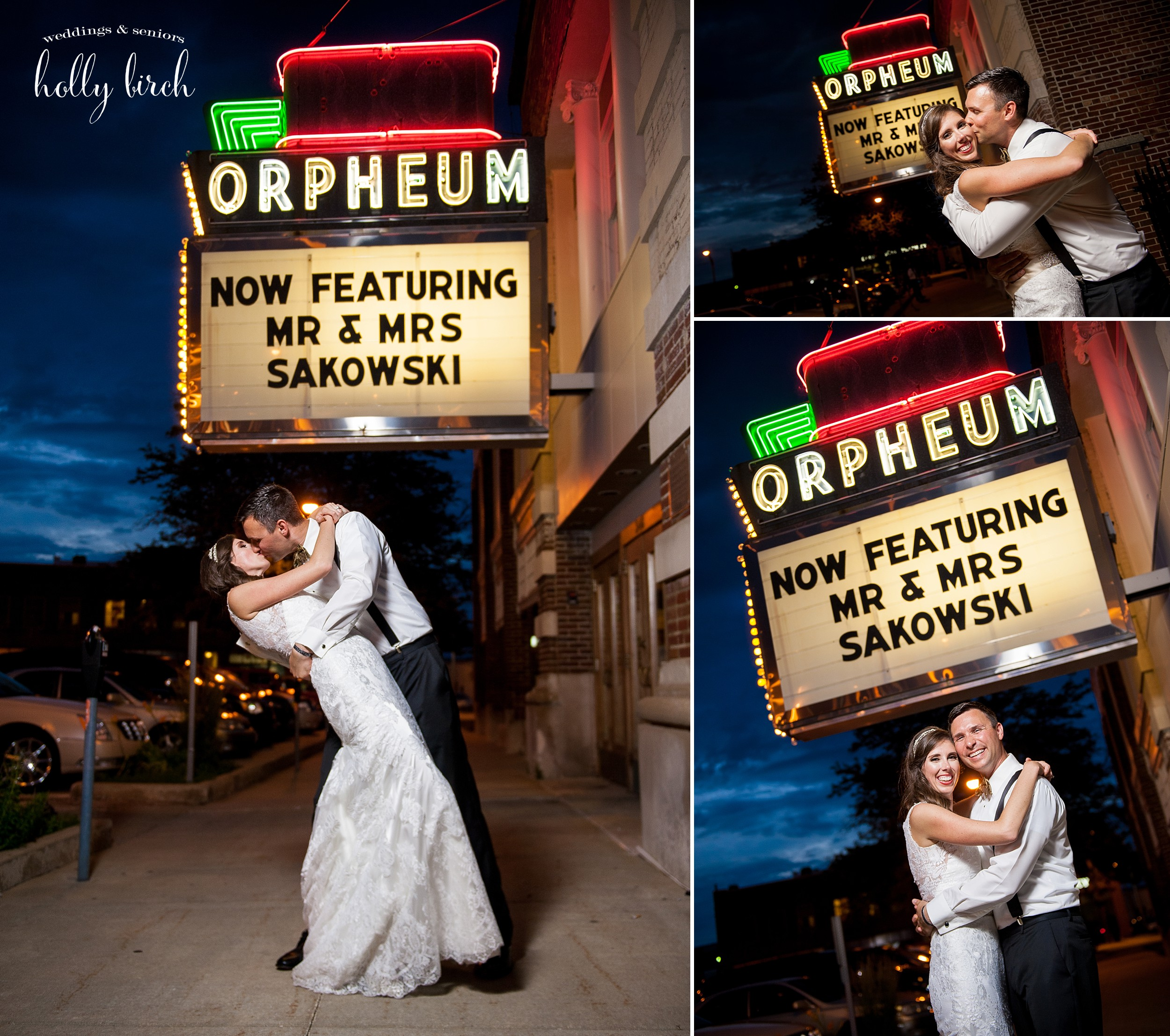 Marquee wedding Orpheum Children's Museum Champaign
