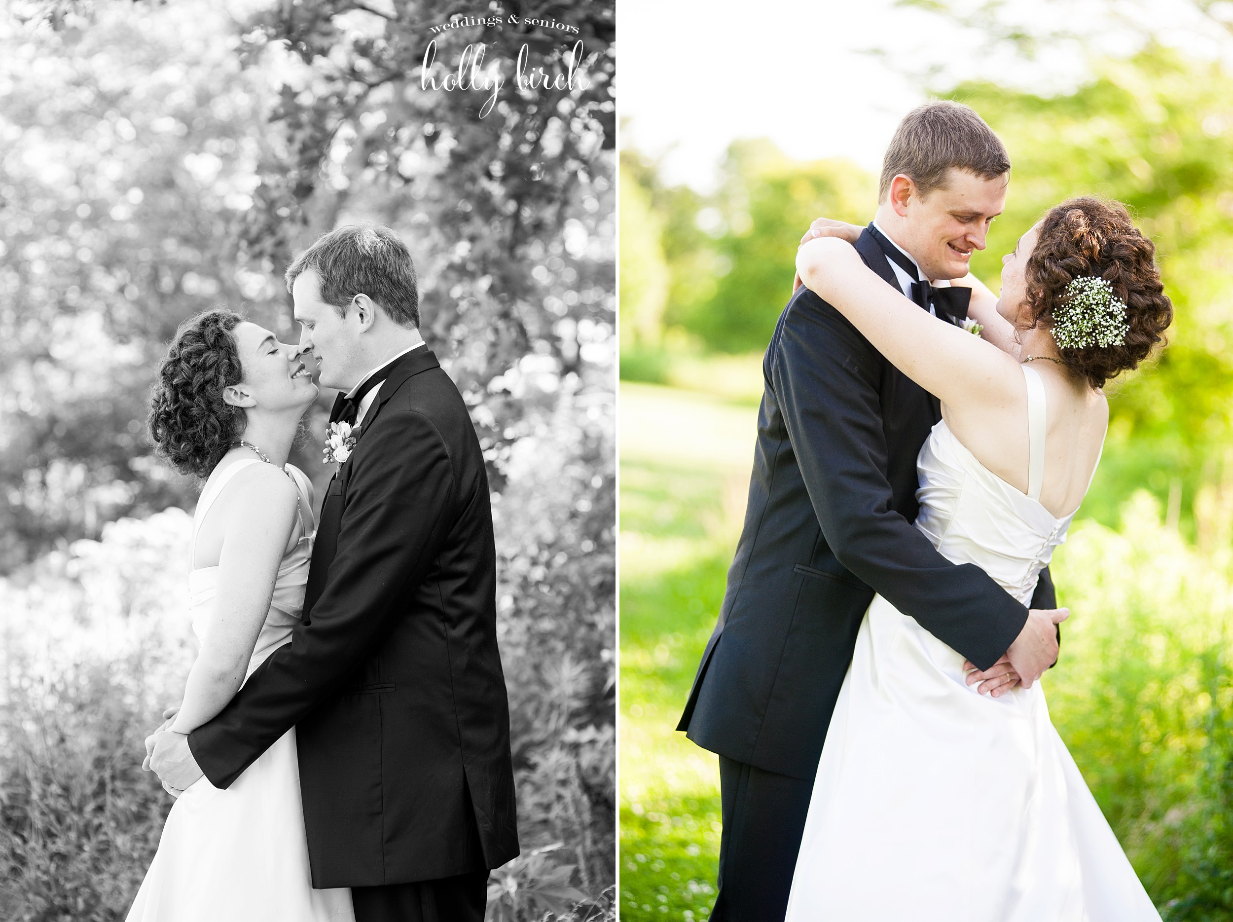 wedding portraits at Meadowbrook Park