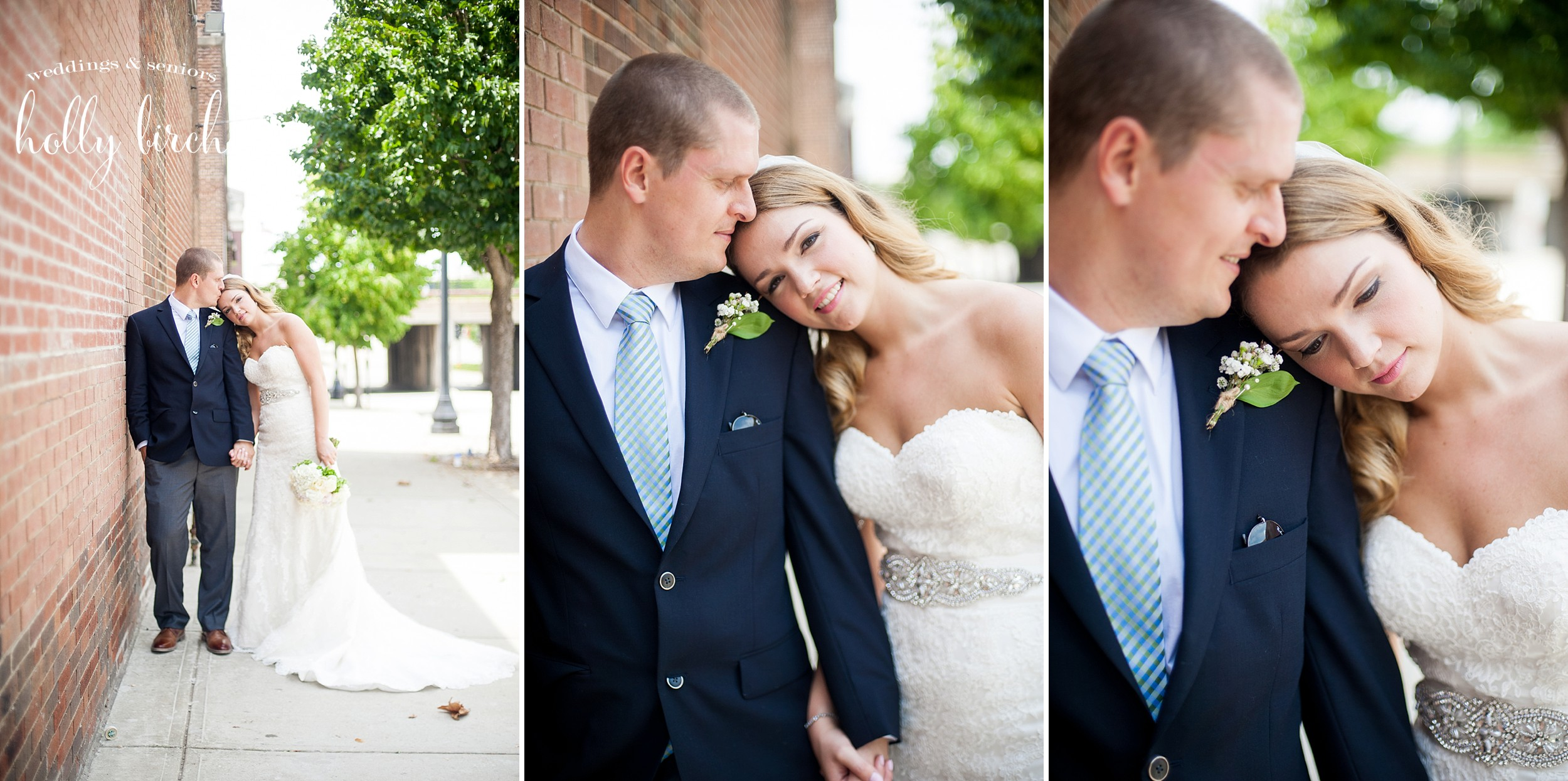 downtown Champaign wedding pictures
