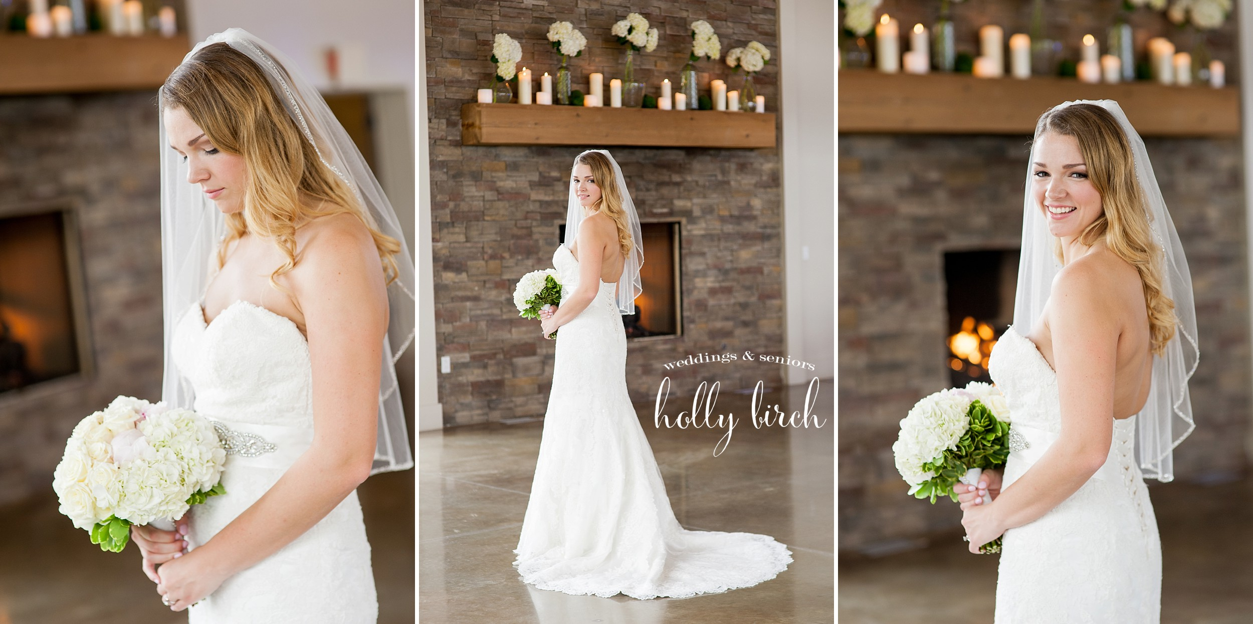 portraits of bride at PTE