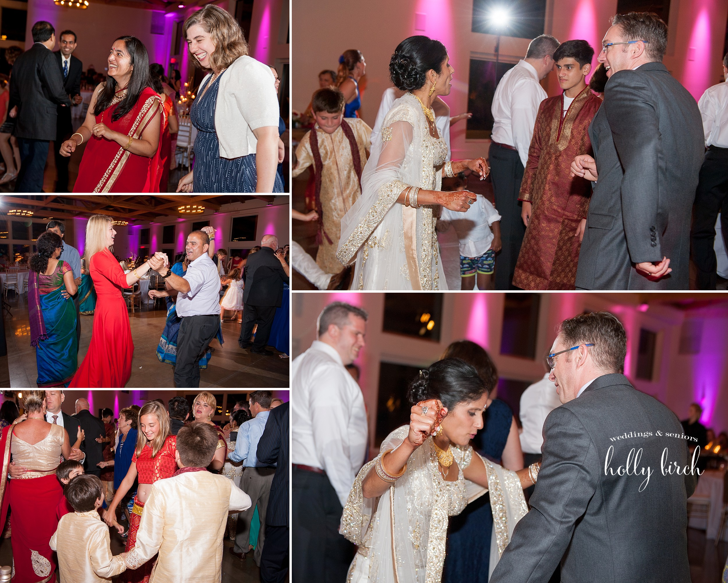 reception dancing candids