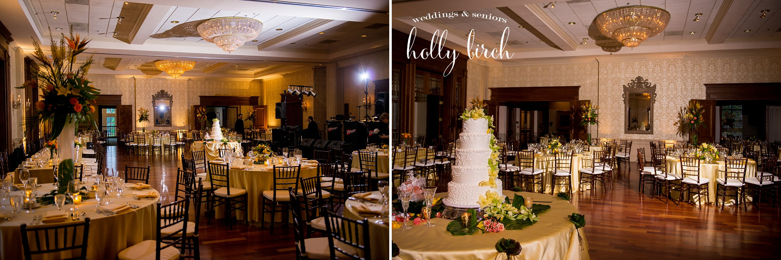 Champaign Country Club ballroom