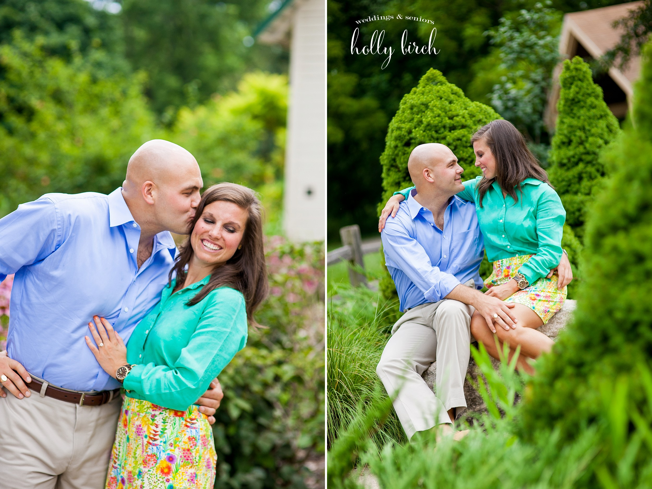 Meadowbrook Park engagement pictures