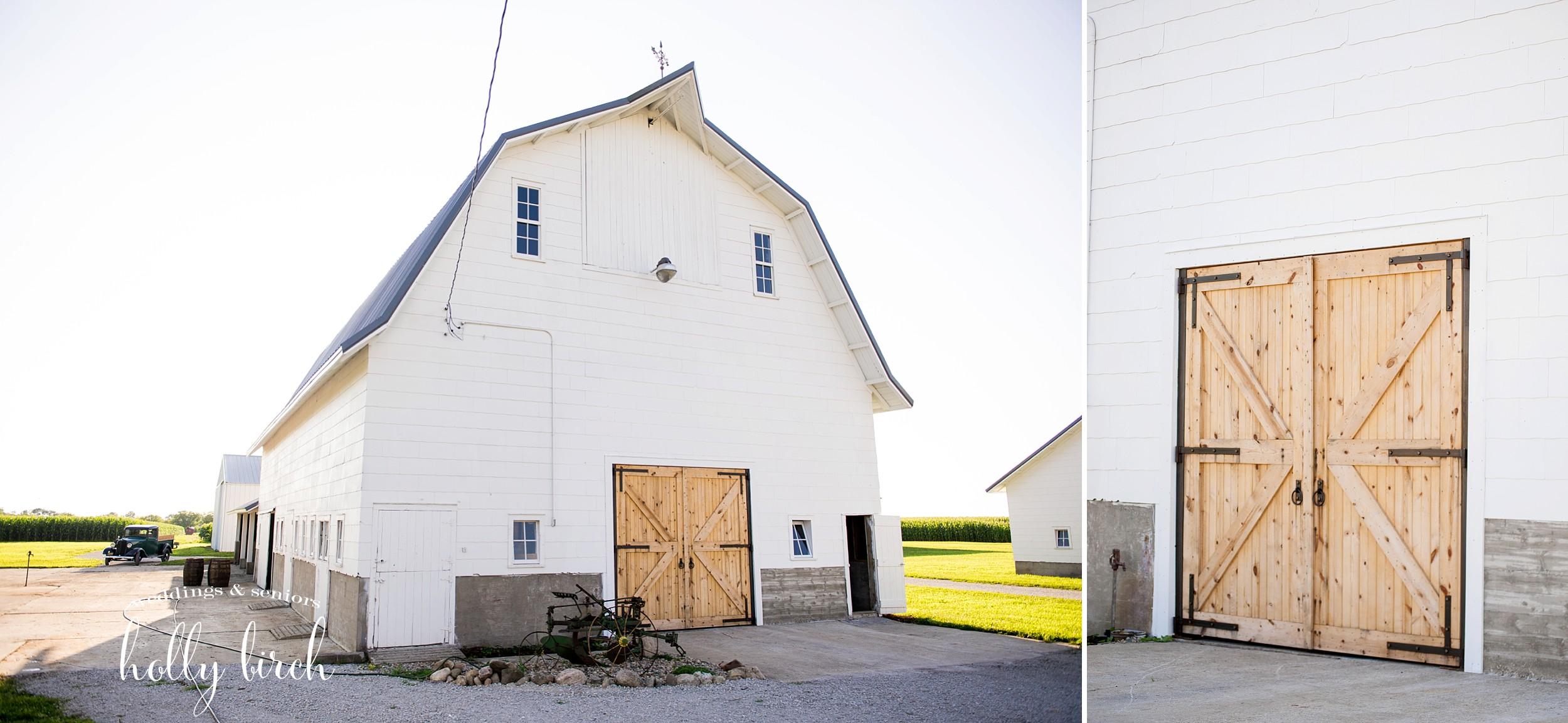 Engelbrecht Farms barn for weddings