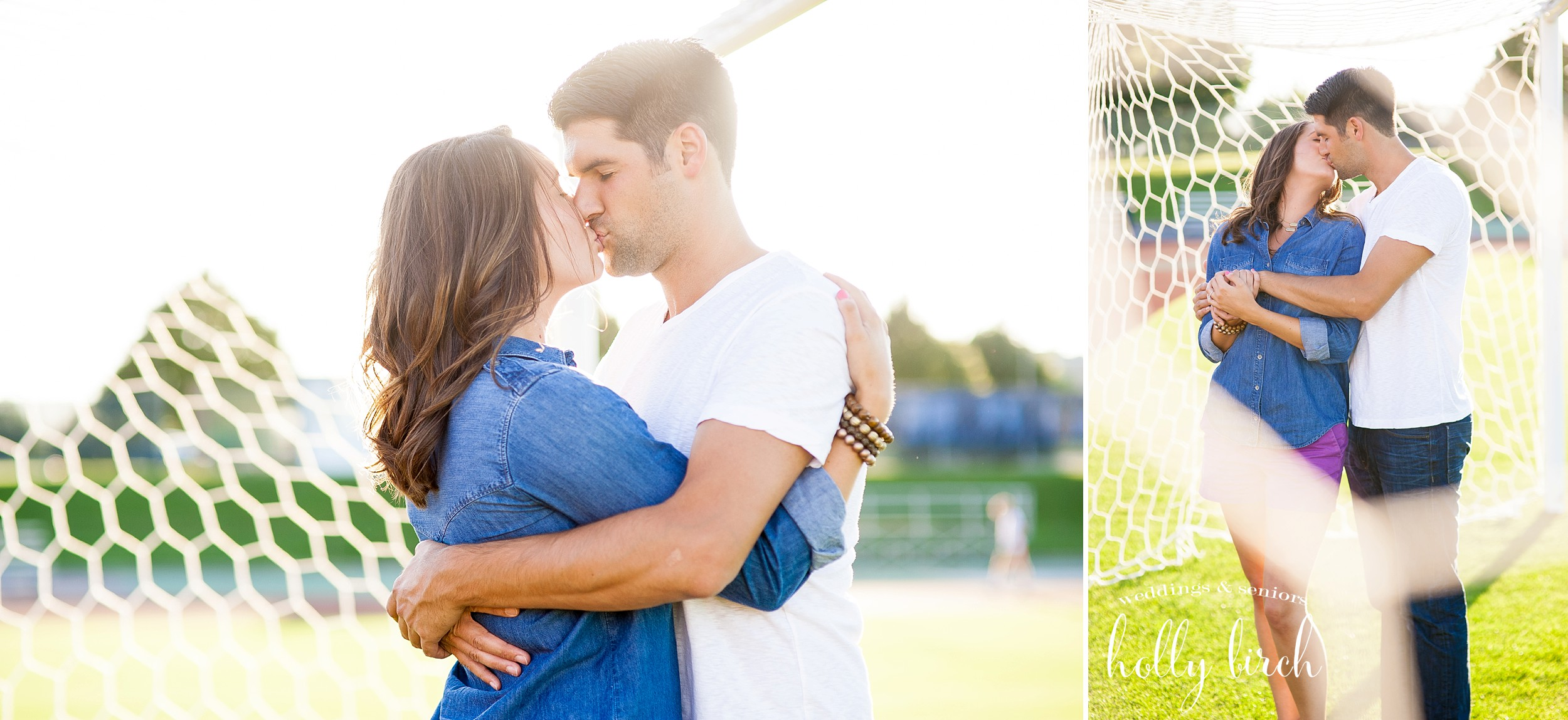 soccer engagement pictures