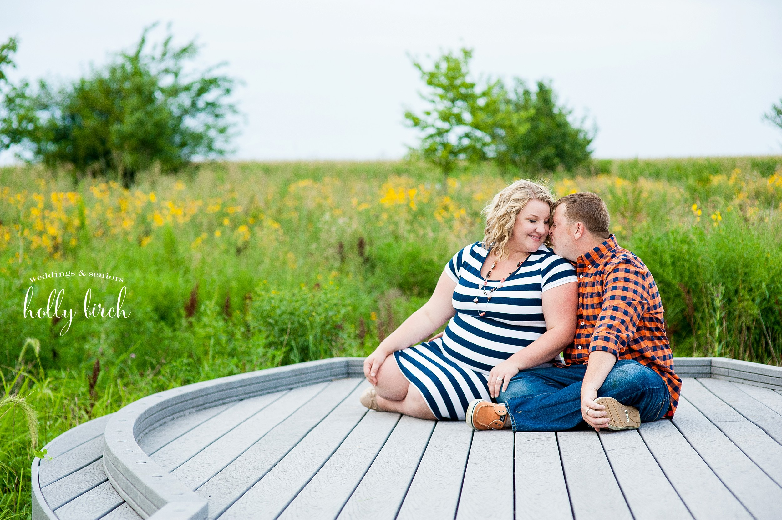 couples' maternity session