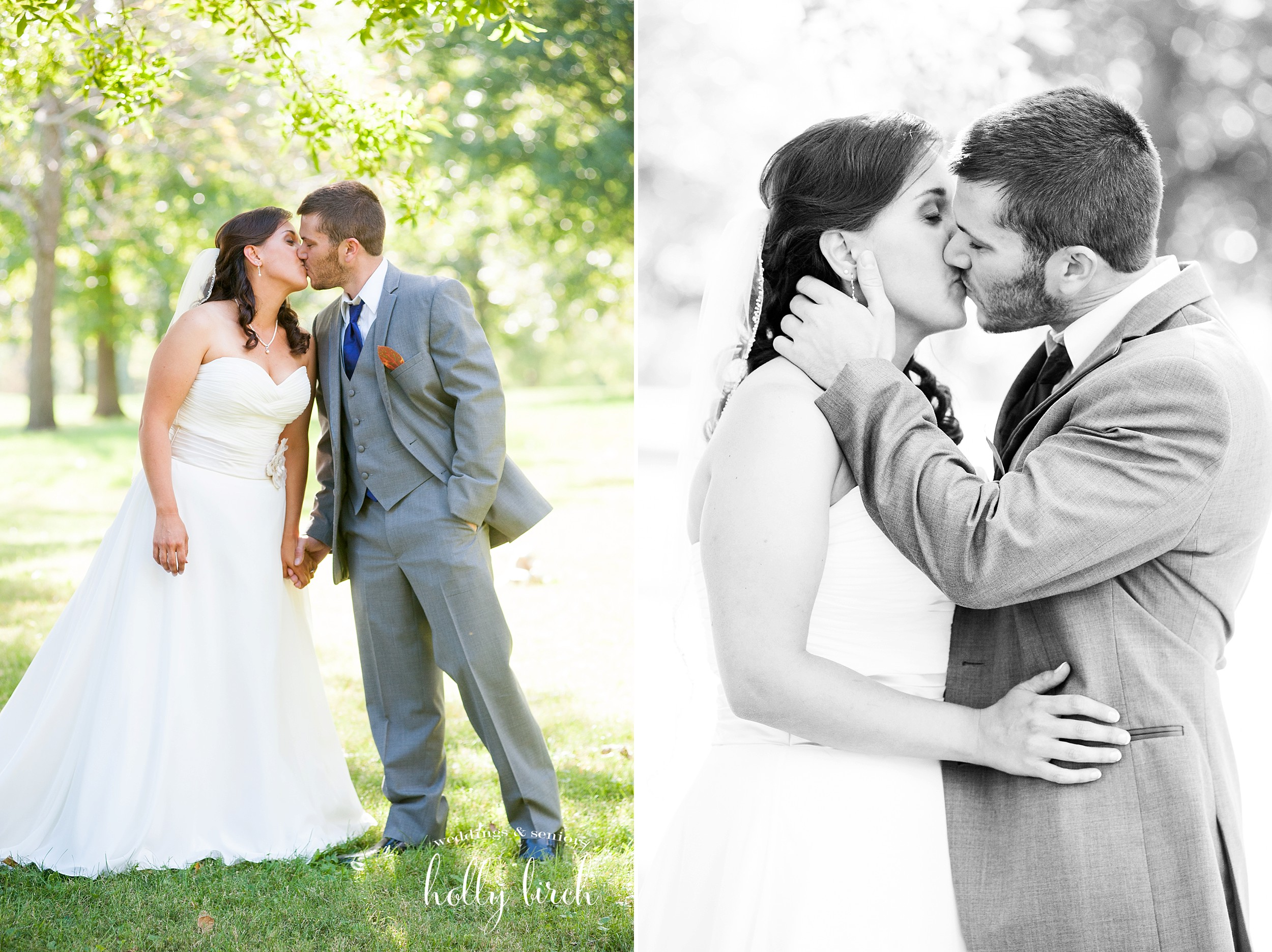 romantic kissing portraits