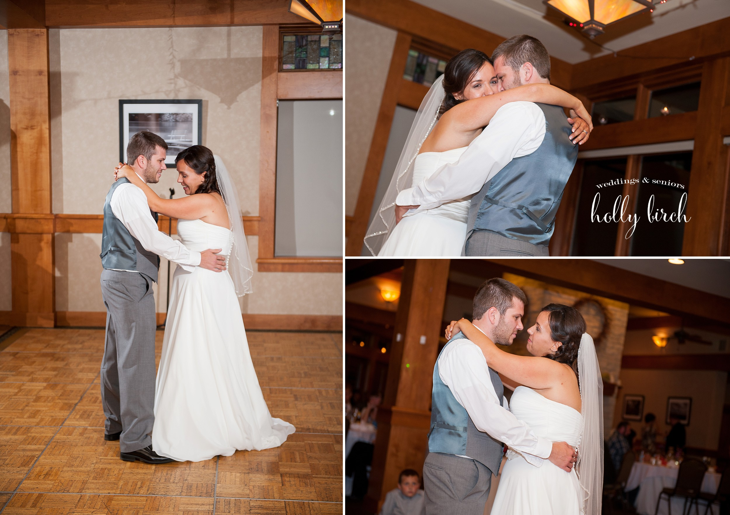 Urbana Stone Creek wedding first dance