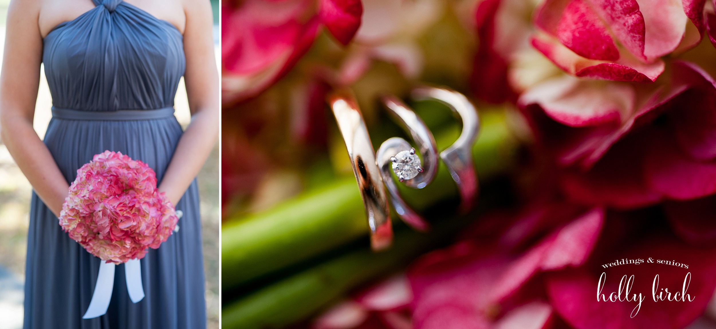 ring and bouquet details