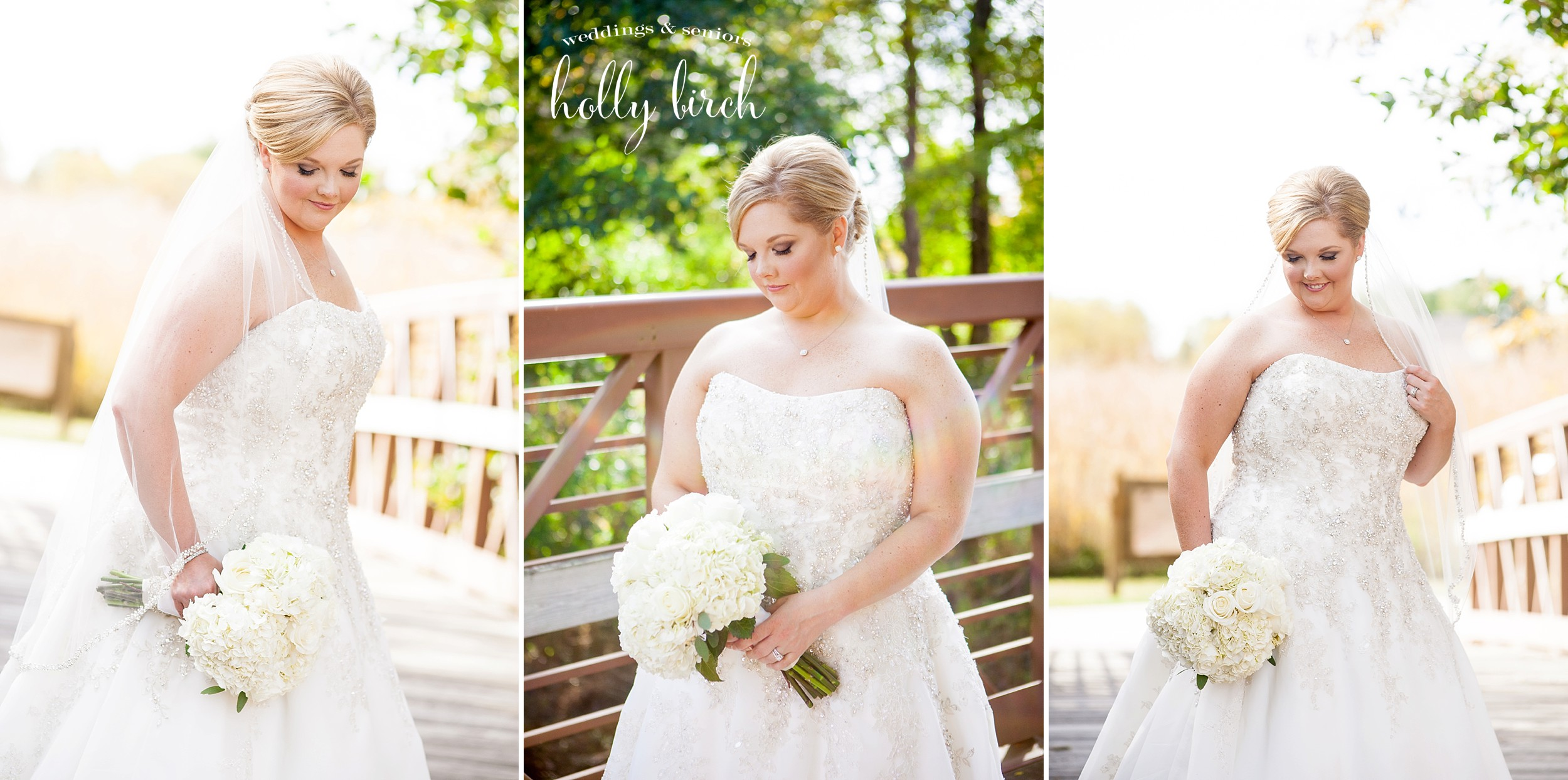 goregous blonde bride