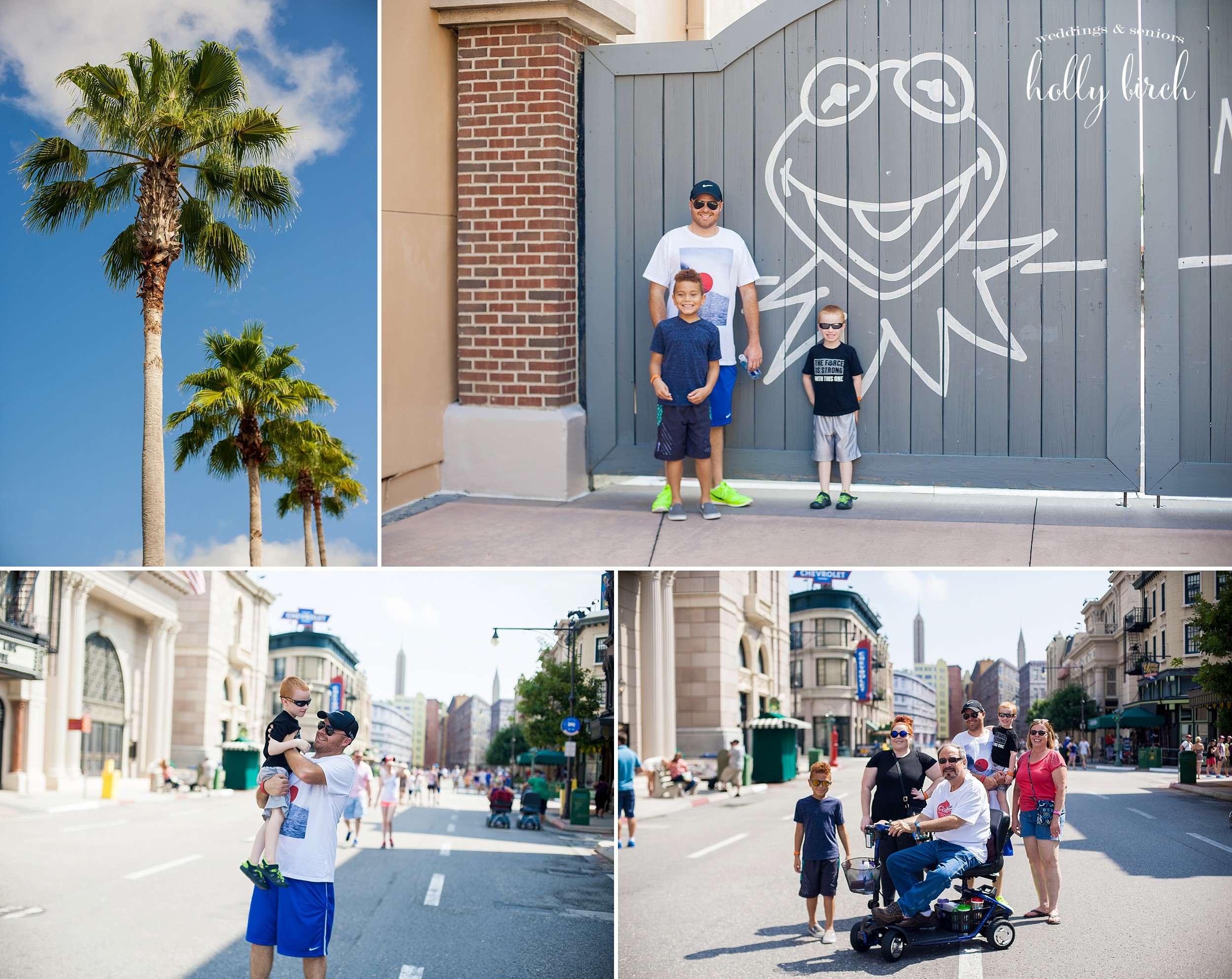 Disney Hollywood Studios family group