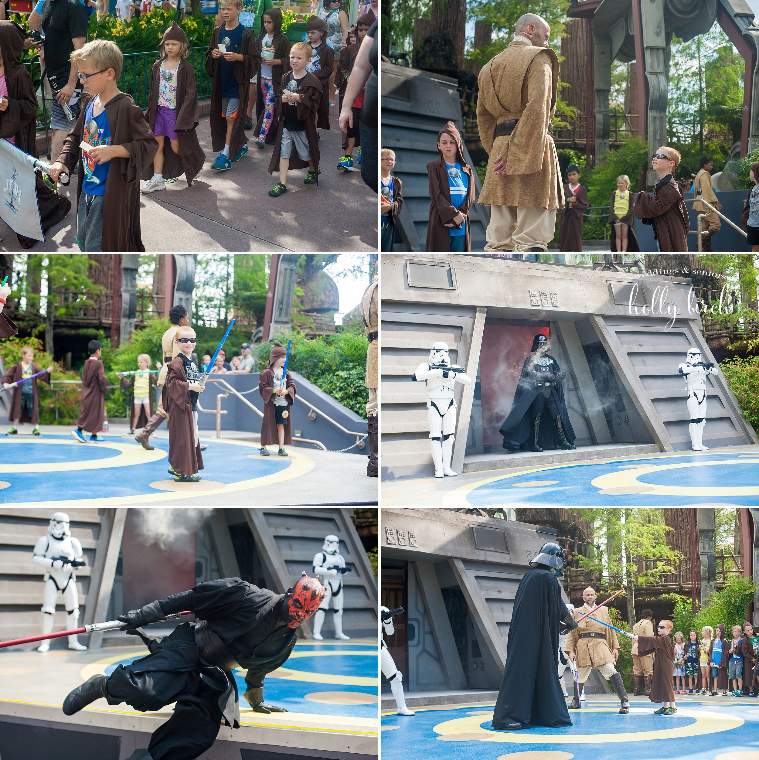 Jedi training Disney photographer