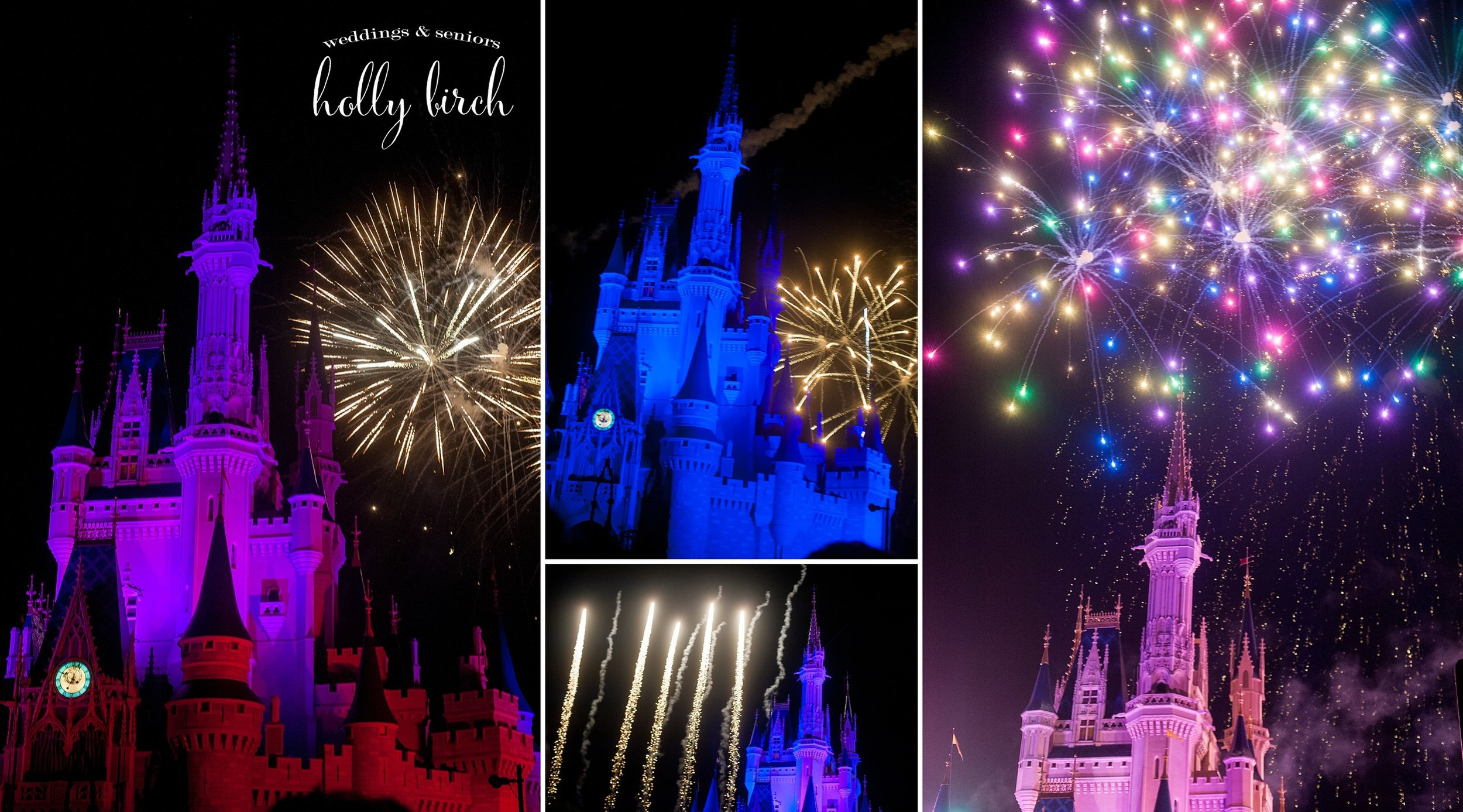 Disney Wishes Fireworks