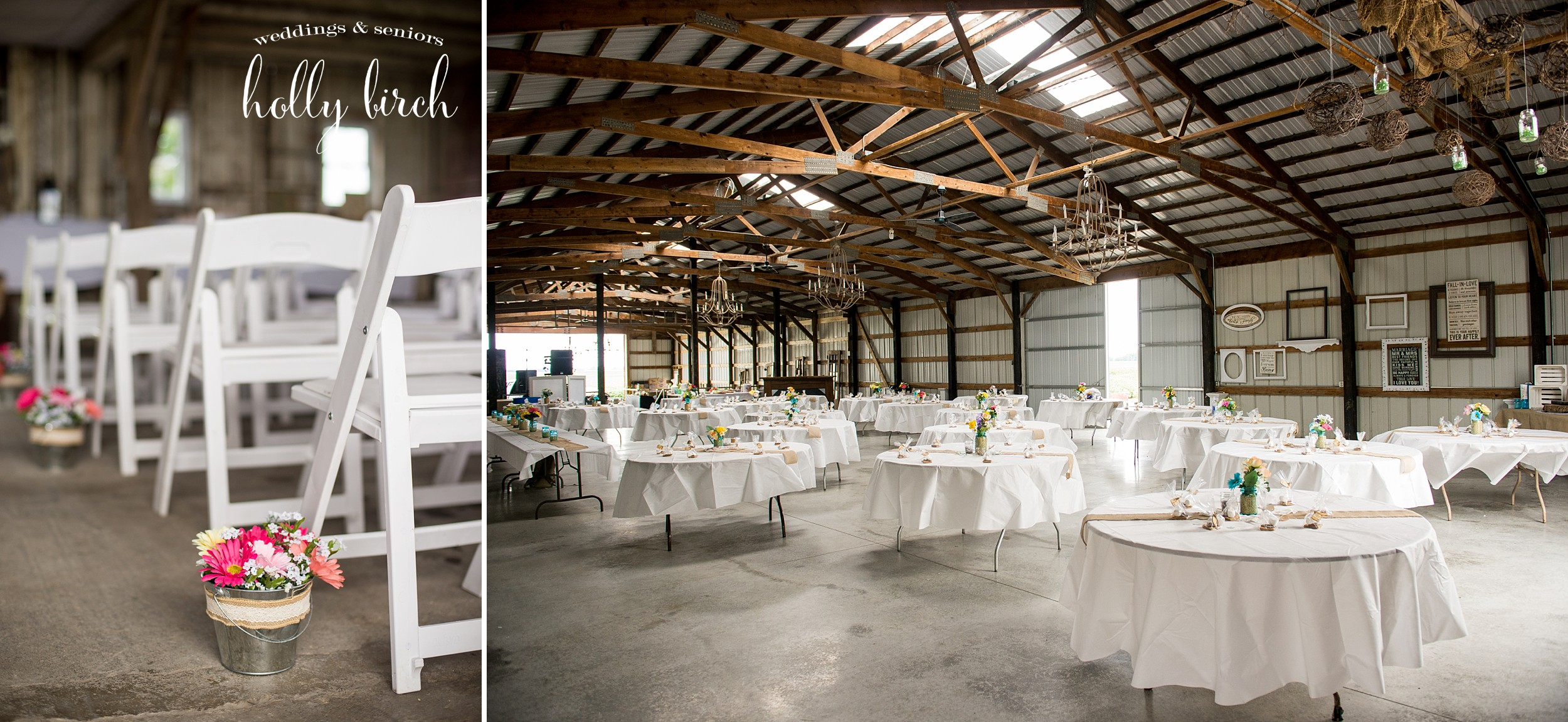machine shed country wedding