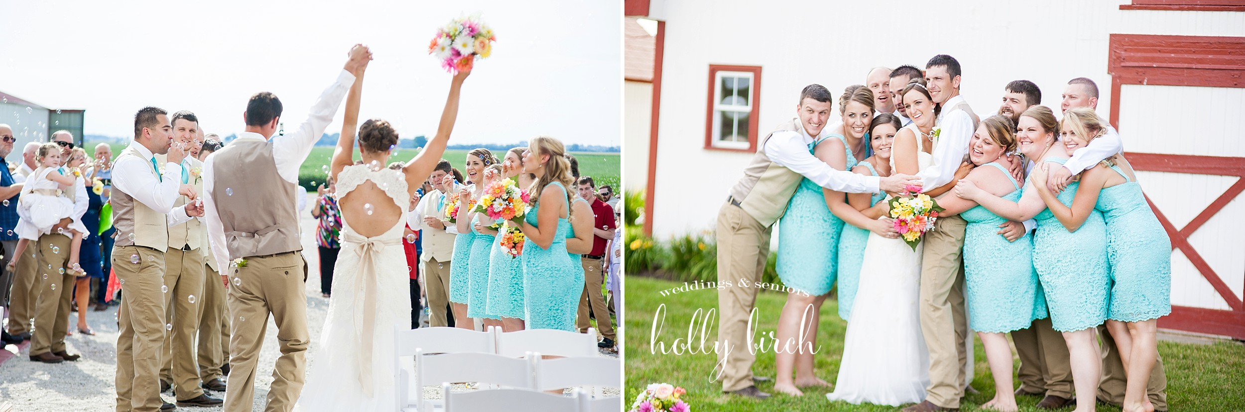 candid country wedding pictures