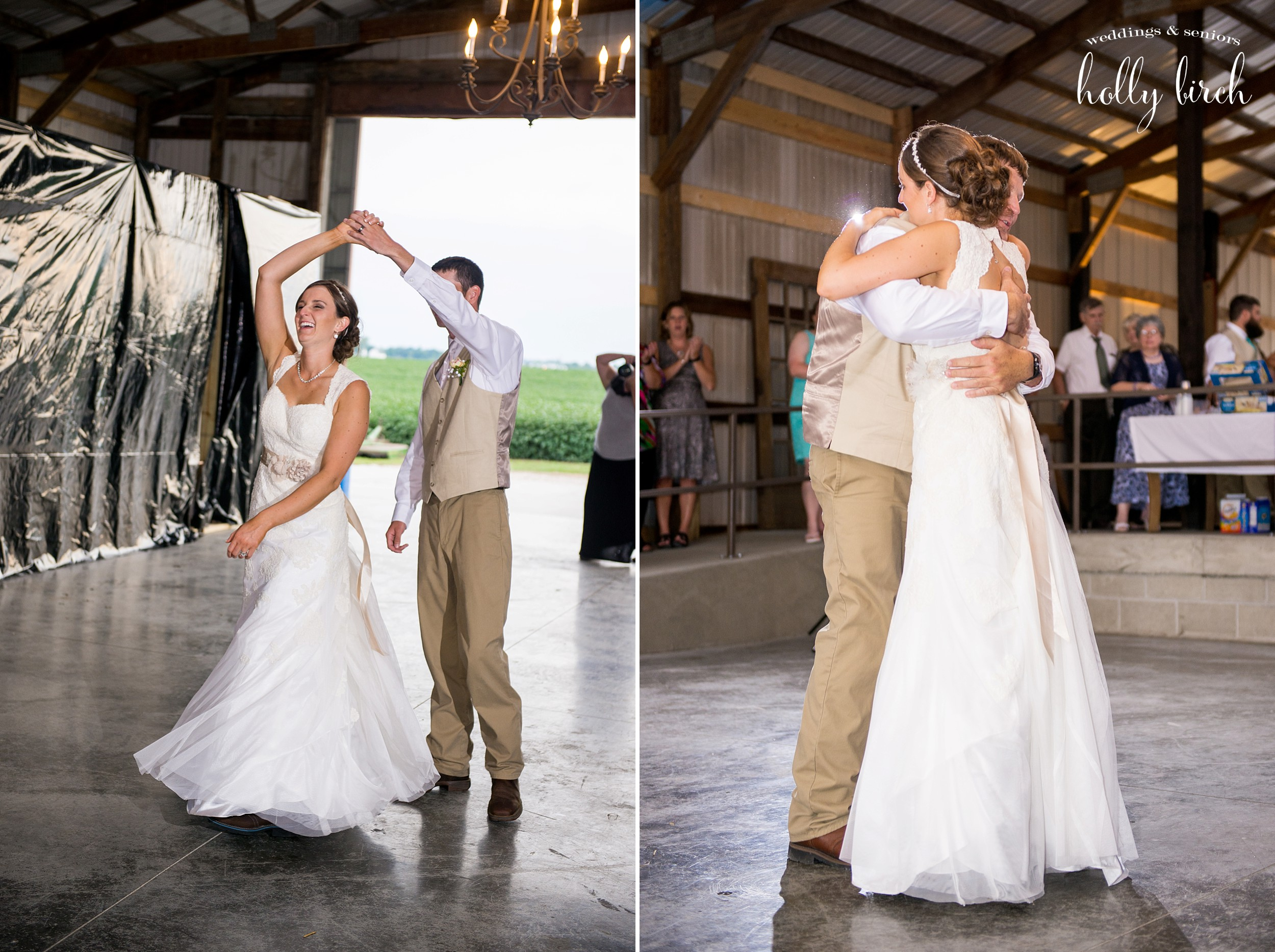 First Dance at Hudson Farms
