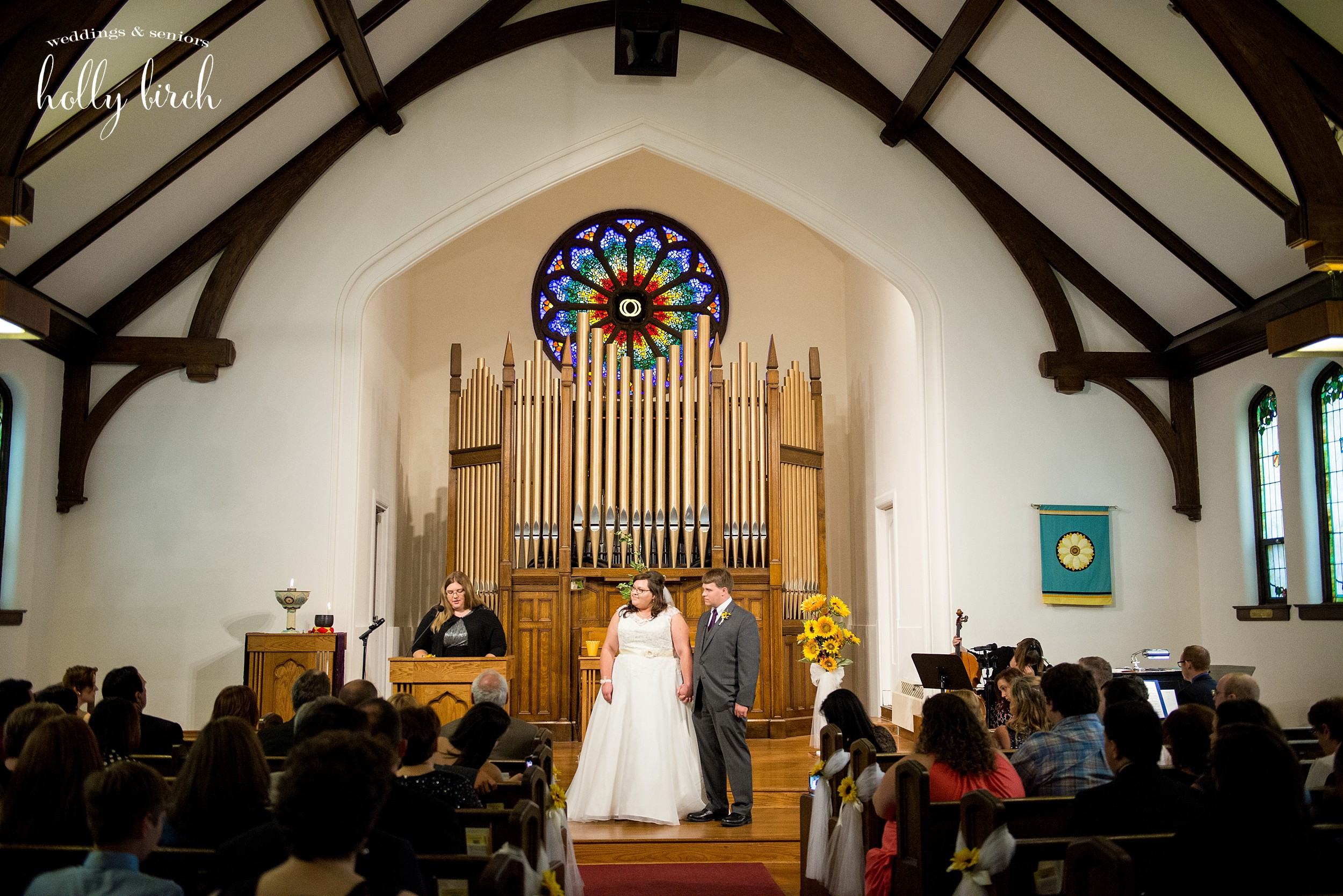 Urbana Unitarian Universalist Church wedding ceremony