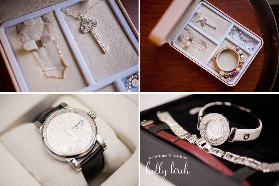 wedding jewelry and watch gifts