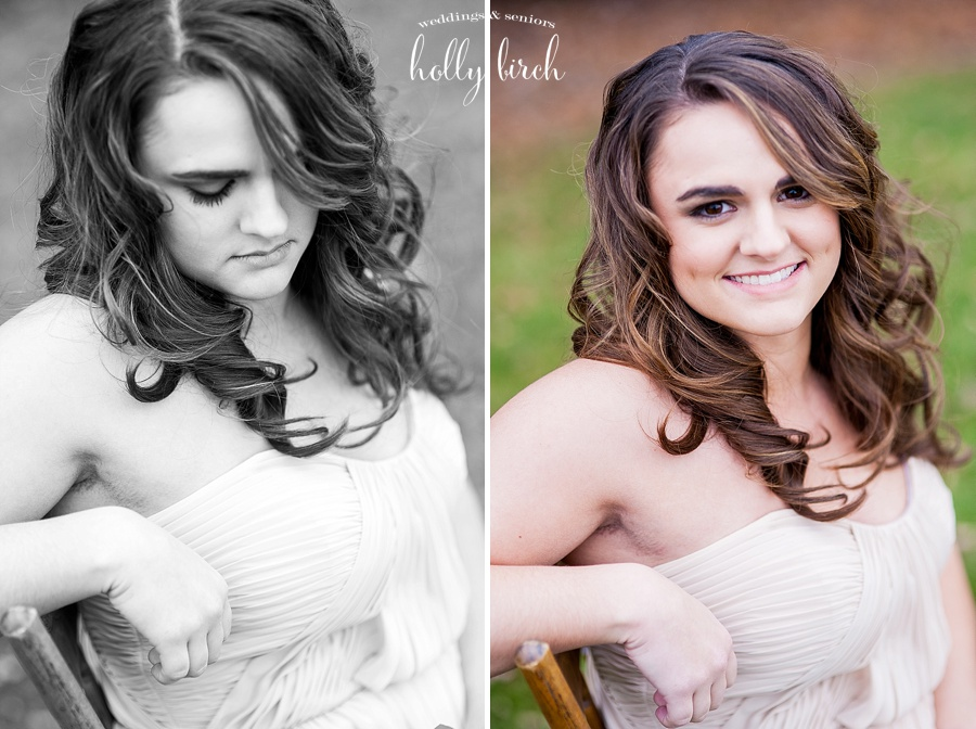 bridesmaid headshot portraits