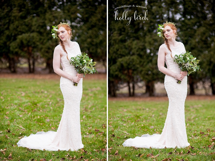 beaded gown from Elite Bridal