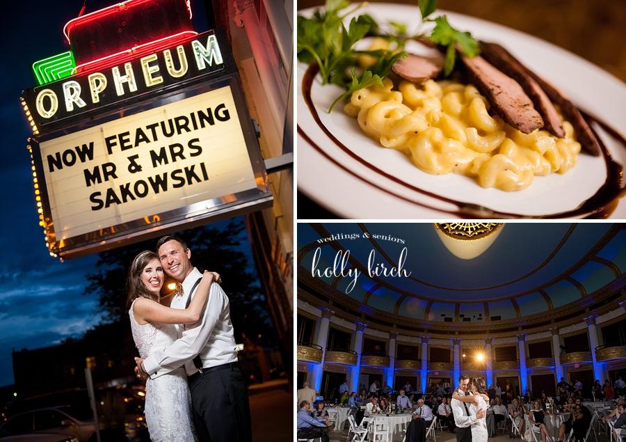 Orpheum weddings off-camera flash