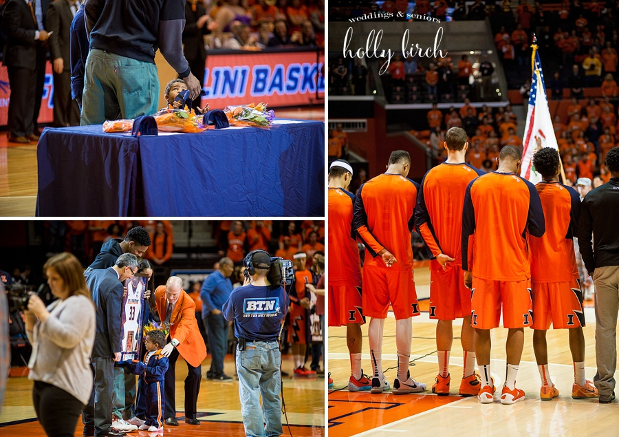 Senior Night for Illini basketball