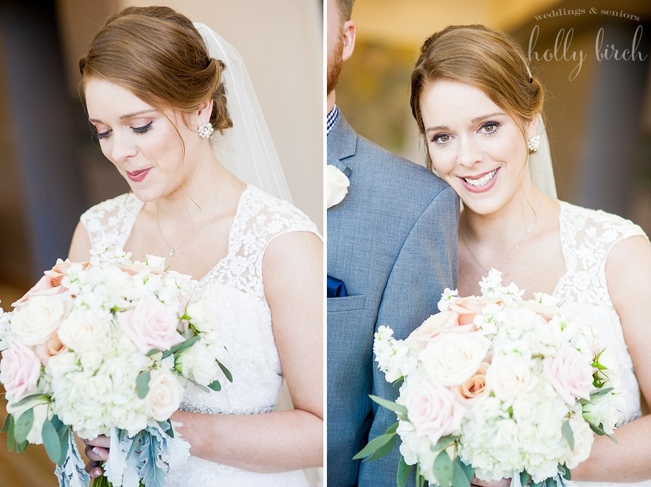 lovely bridal portraits