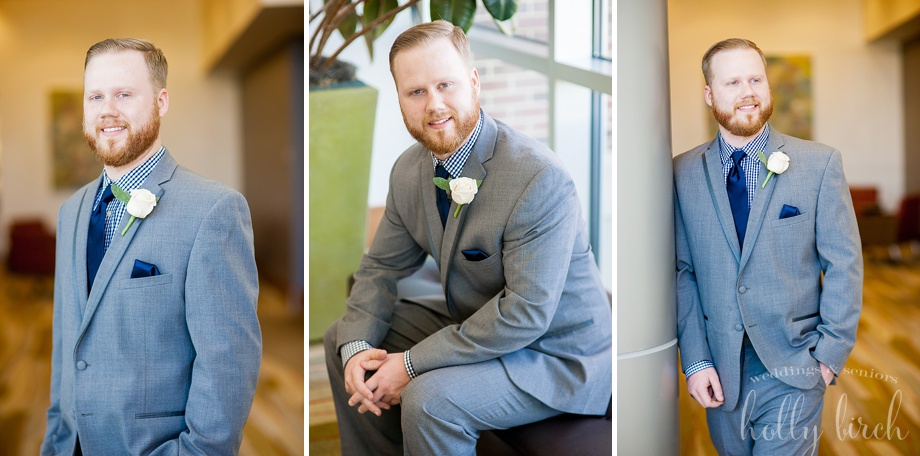 handsome groom portraits