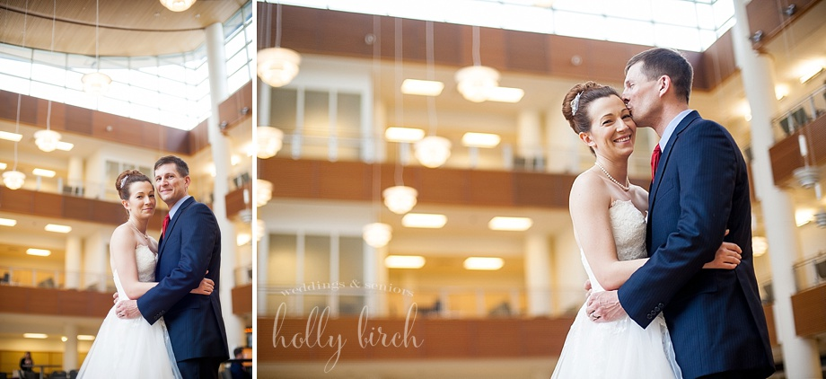 Business Instructional Facility wedding photos
