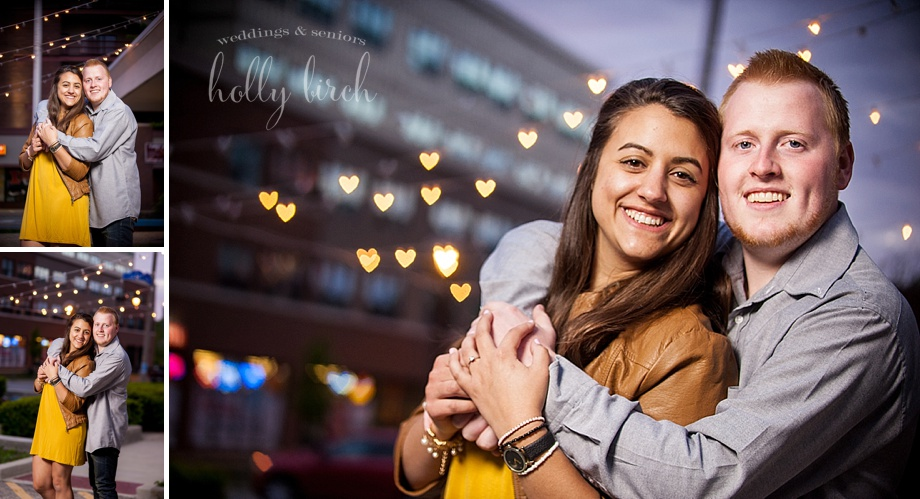 heart shaped bokeh photos