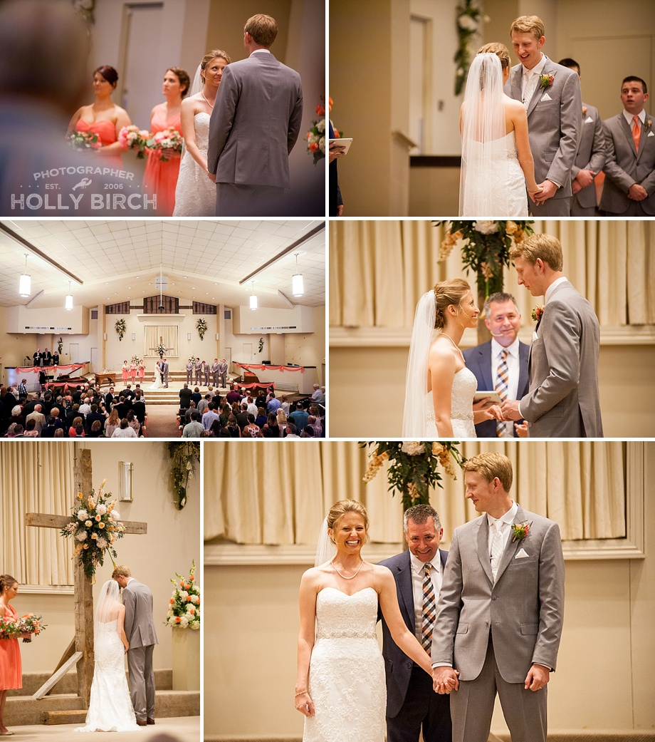 church sanctuary wedding ceremony