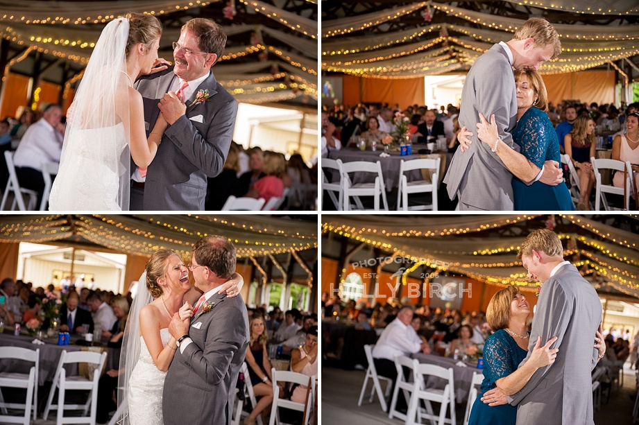 father-daughter and mother-son dances