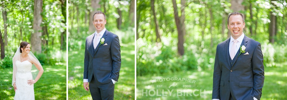 Groom portraits in tux