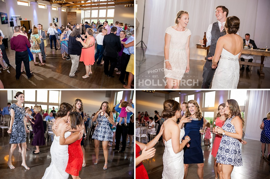 fun wedding dancing