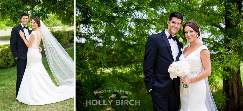 Urbana Stone Creek wedding couple