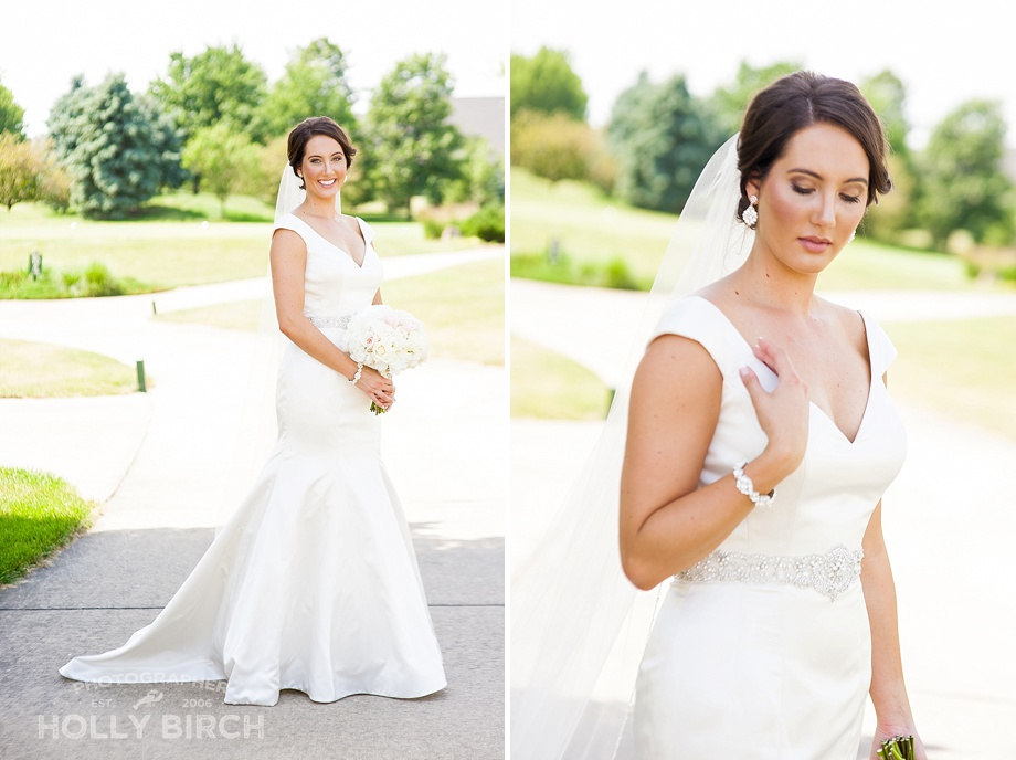 elegant bridal gown from Michelle's Bridal