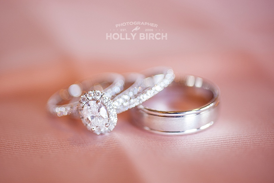 Champaign Jewelers wedding rings set