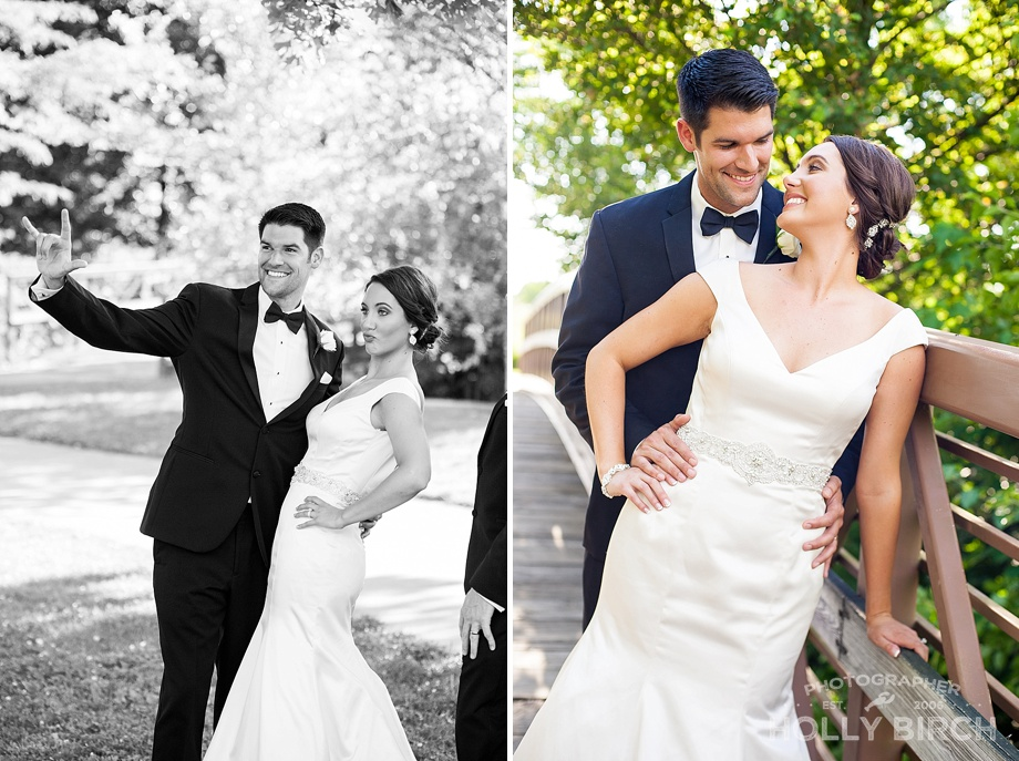 magazine worthy bride and groom