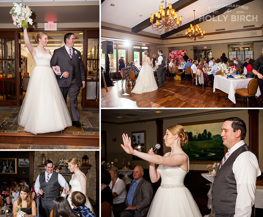 Urbana Country Club wedding reception