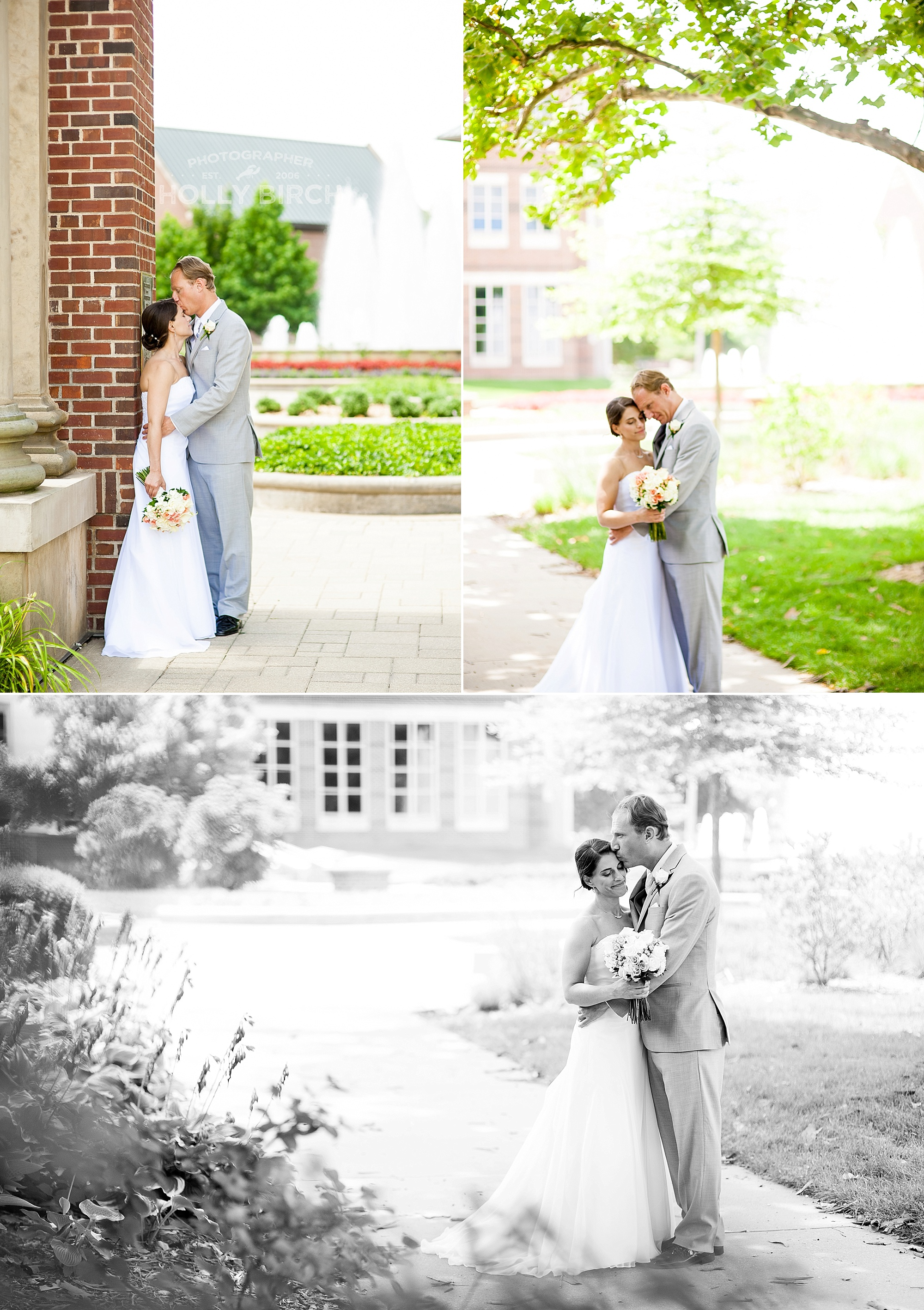 Hallene Gateway wedding portraits