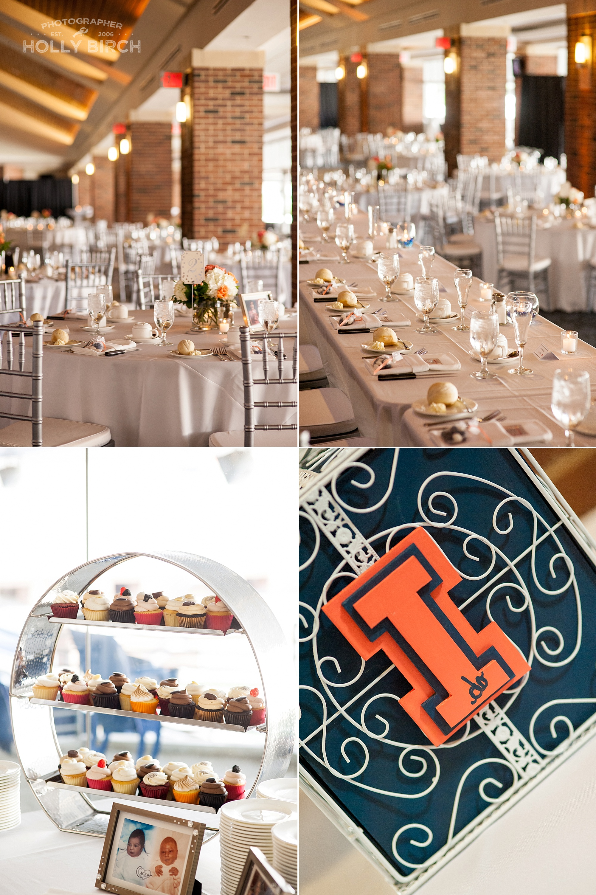 Colonnades Club at Memorial Stadium wedding