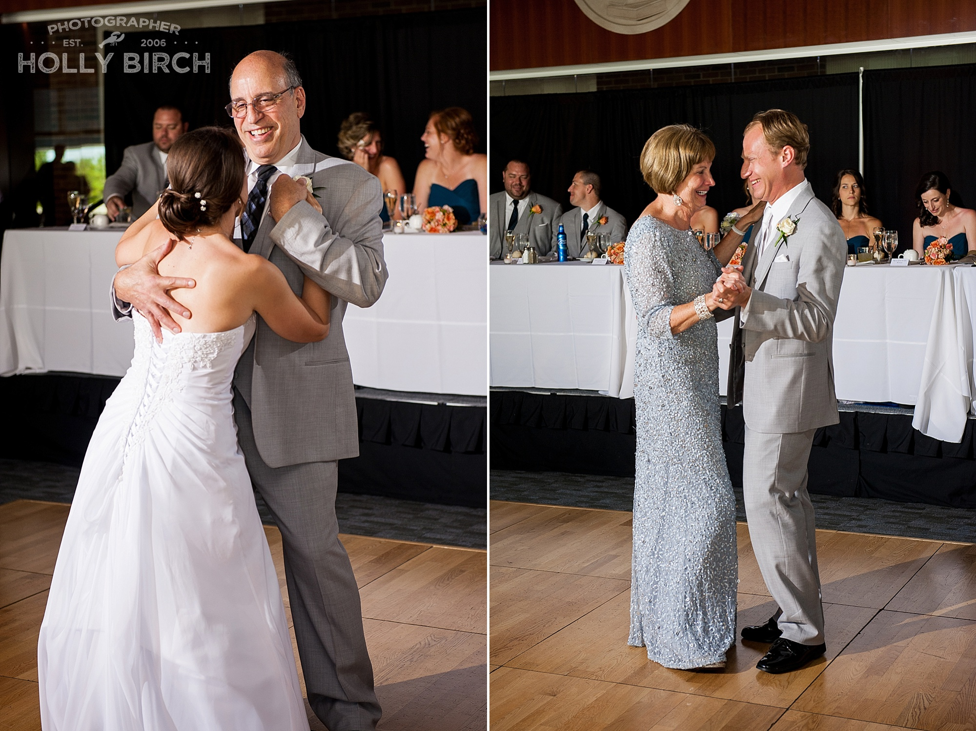 father-daughter and mother-son dance