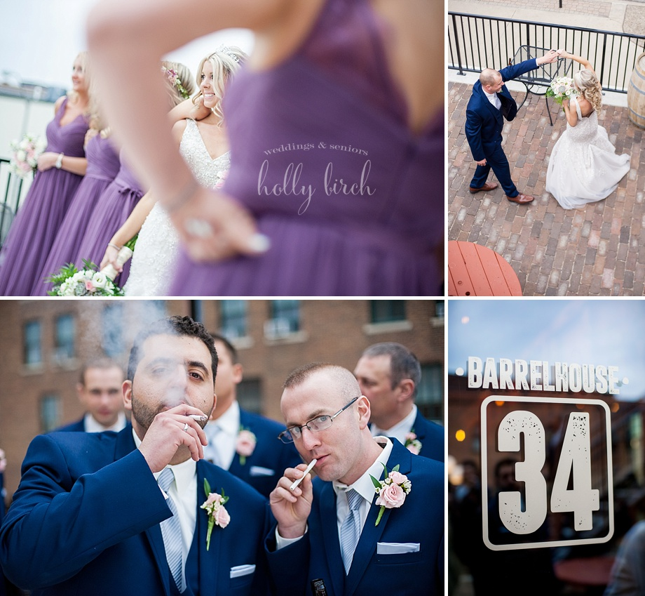 photojournalistic wedding photos at Barrelhouse 34