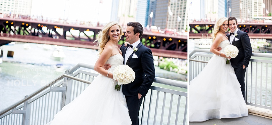 black tie wedding pictures in Chicago