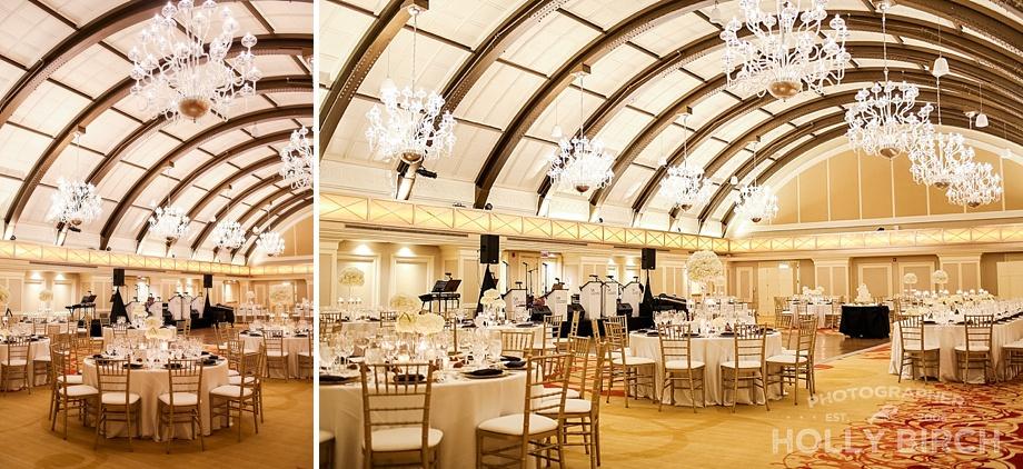 JW Marriott reception ballroom