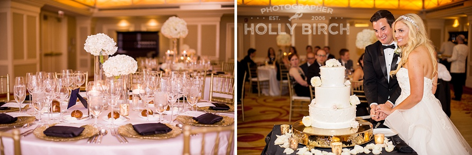 Chicago ballroom wedding reception