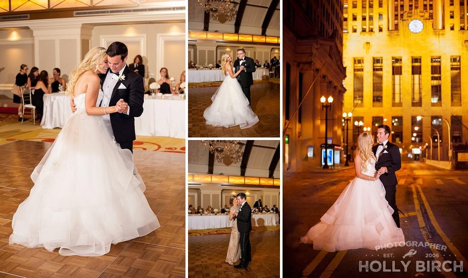 Chicago wedding first dances