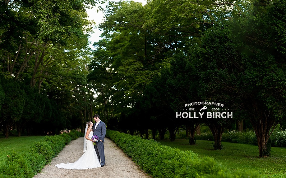 Brenizer method wedding image